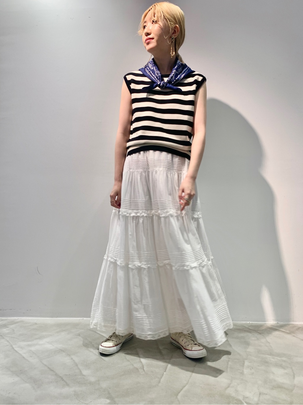 Dot and Stripes CHILD WOMAN ラフォーレ原宿 身長:160cm 2020.06.25