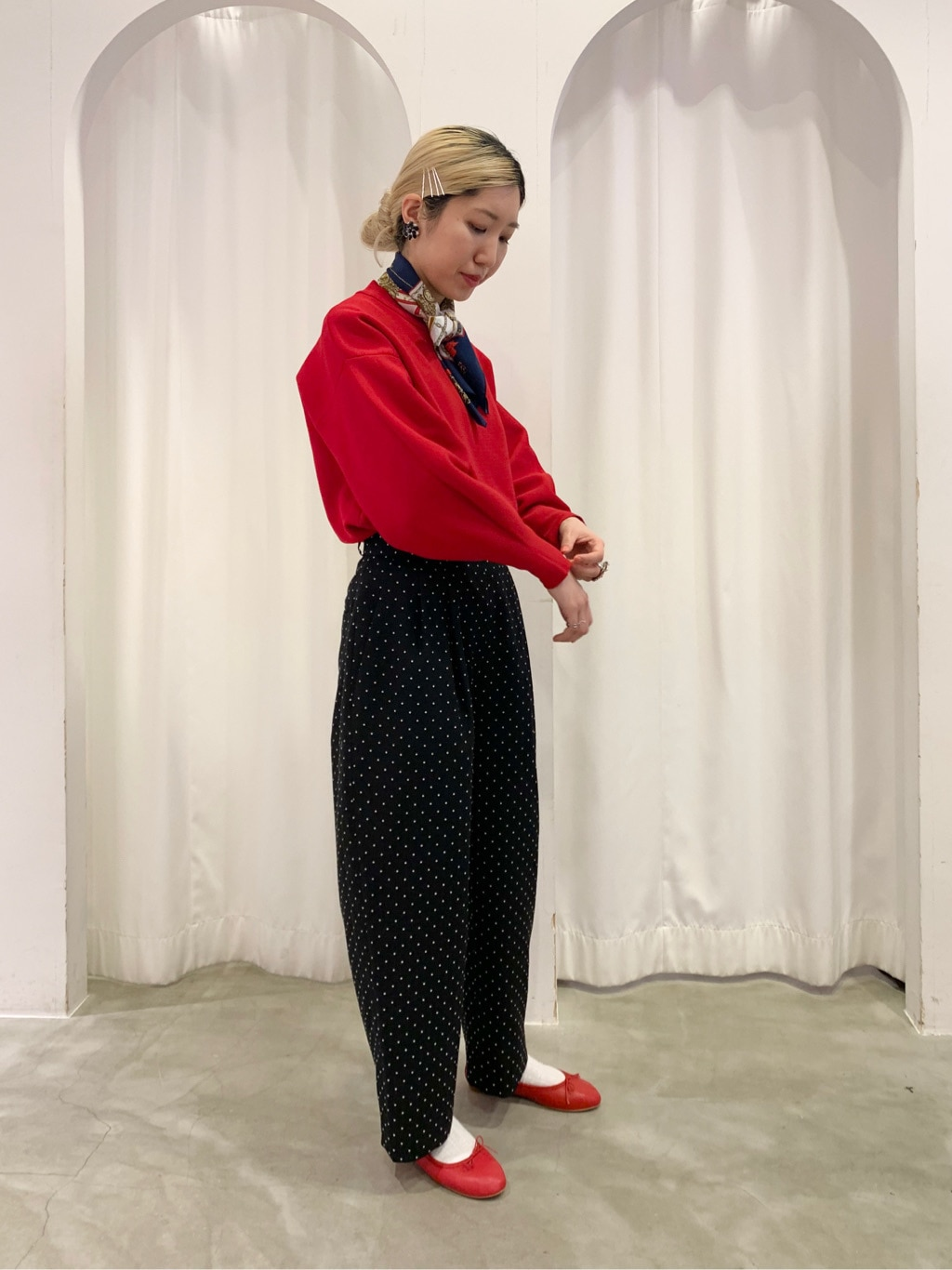 Dot and Stripes CHILD WOMAN ラフォーレ原宿 身長:160cm 2021.02.21