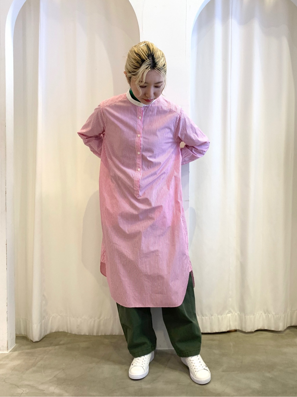 Dot and Stripes CHILD WOMAN ラフォーレ原宿 身長:160cm 2021.01.06