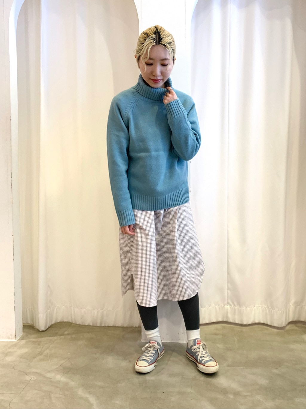 Dot and Stripes CHILD WOMAN ラフォーレ原宿 身長:160cm 2021.01.21