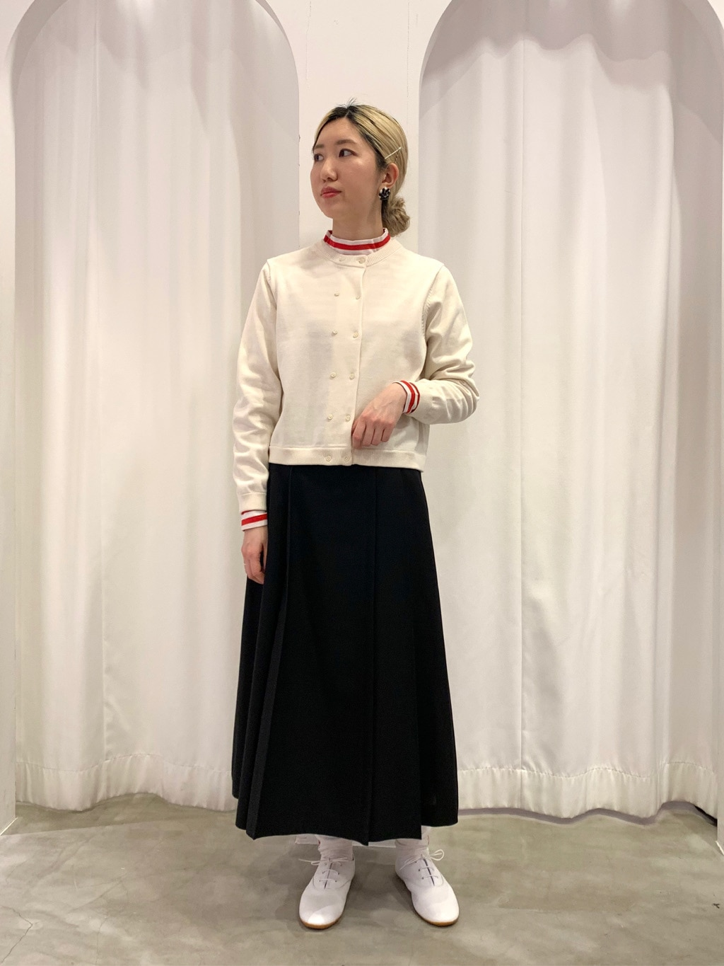 Dot and Stripes CHILD WOMAN ラフォーレ原宿 身長:160cm 2021.02.20