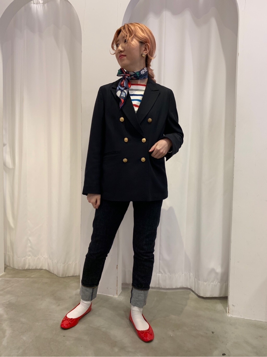Dot and Stripes CHILD WOMAN 新宿ミロード 身長:160cm 2020.01.08