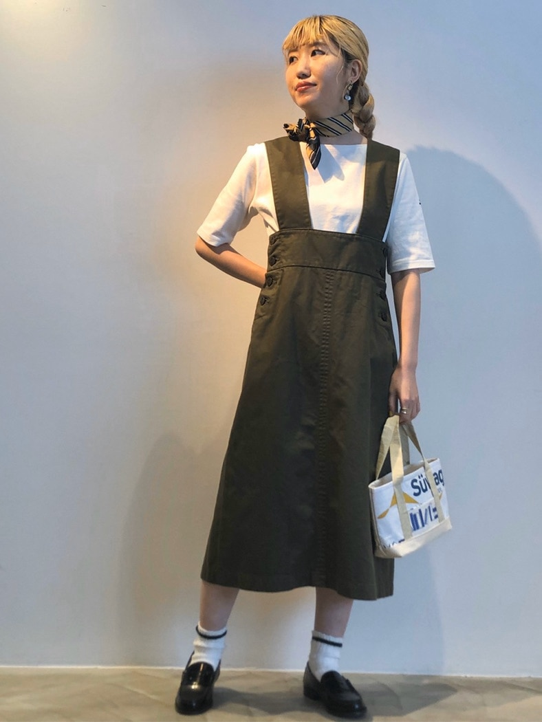 Dot and Stripes CHILD WOMAN ラフォーレ原宿 身長:160cm 2020.07.29