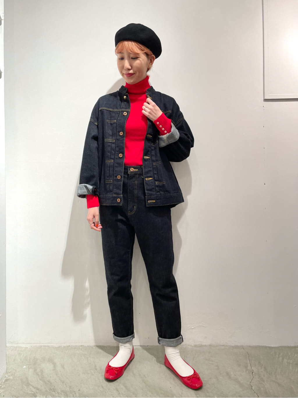 - CHILD WOMAN 原宿路面 身長:160cm 2021.10.18