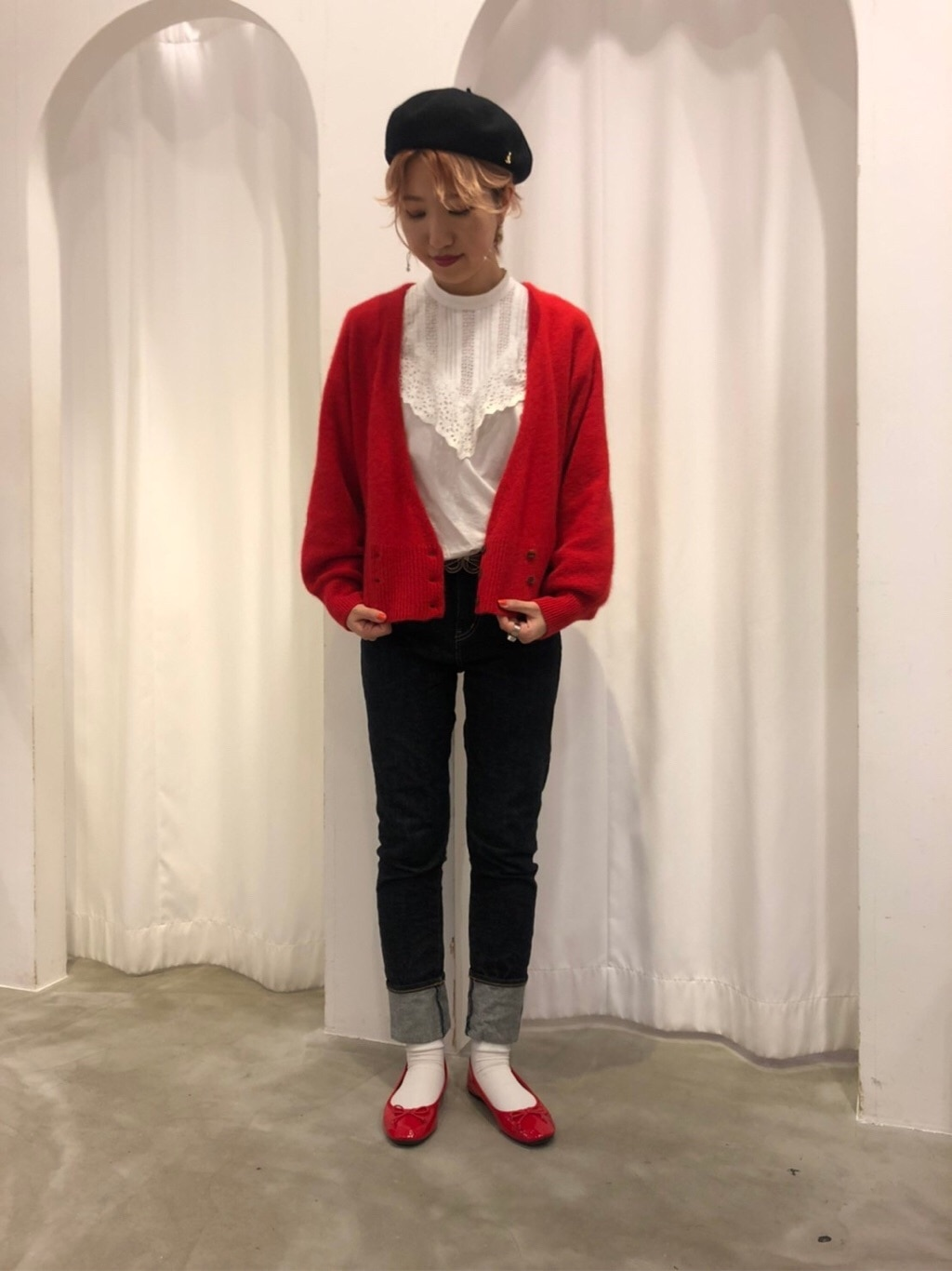Dot and Stripes CHILD WOMAN 新宿ミロード 身長:160cm 2019.11.21