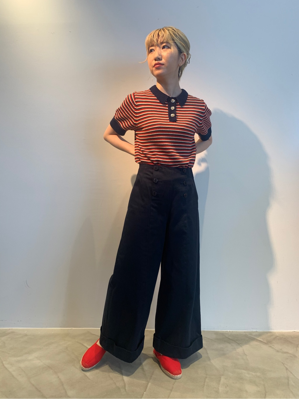 Dot and Stripes CHILD WOMAN ラフォーレ原宿 身長:160cm 2020.08.05