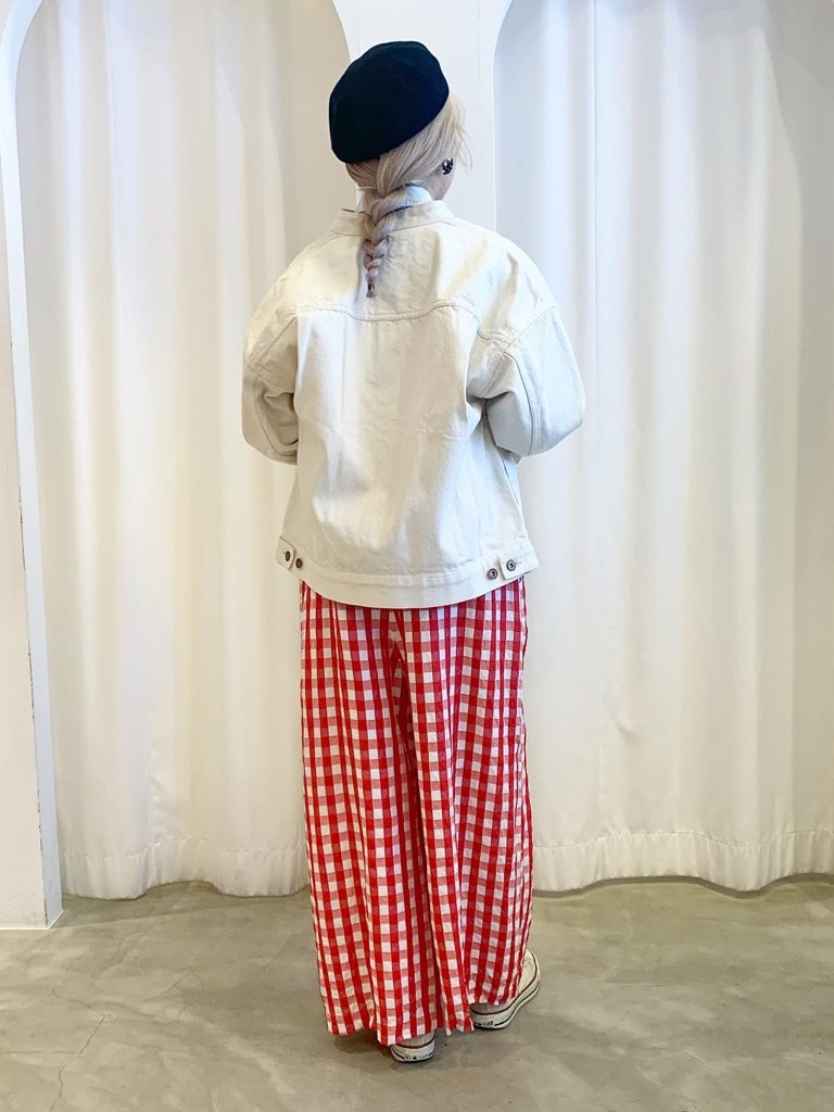 Dot and Stripes CHILD WOMAN ラフォーレ原宿 身長:160cm 2021.02.23