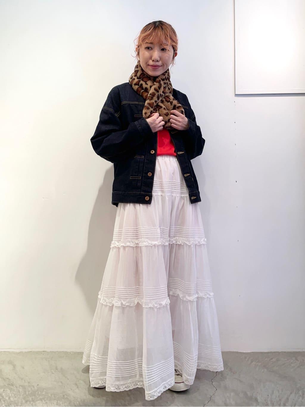 - CHILD WOMAN 原宿路面 身長:160cm 2021.09.19