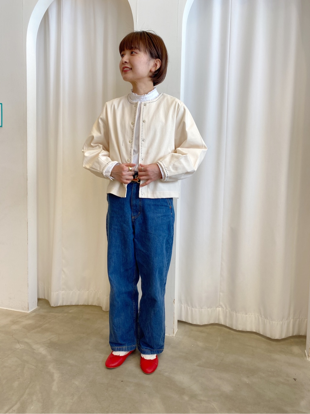 Dot and Stripes CHILD WOMAN ラフォーレ原宿 身長:152cm 2020.04.11