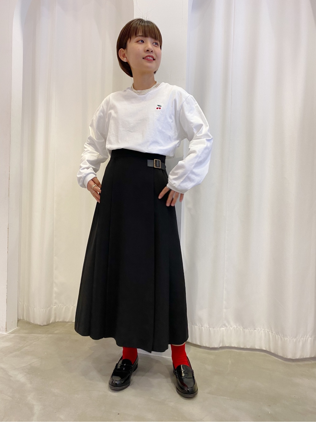 Dot and Stripes CHILD WOMAN ラフォーレ原宿 身長:152cm 2020.04.08