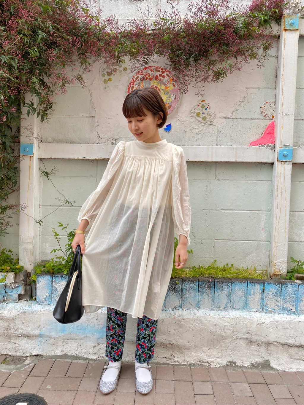 Dot and Stripes CHILD WOMAN ラフォーレ原宿 身長:152cm 2020.04.07