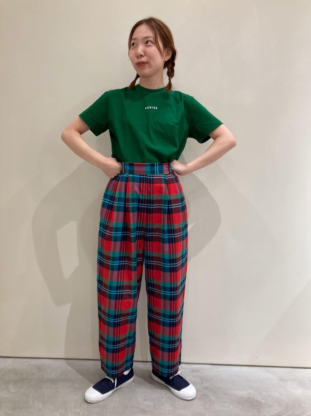- CHILD WOMAN CHILD WOMAN , PAR ICI 新宿ミロード 身長:159cm 2021.08.06