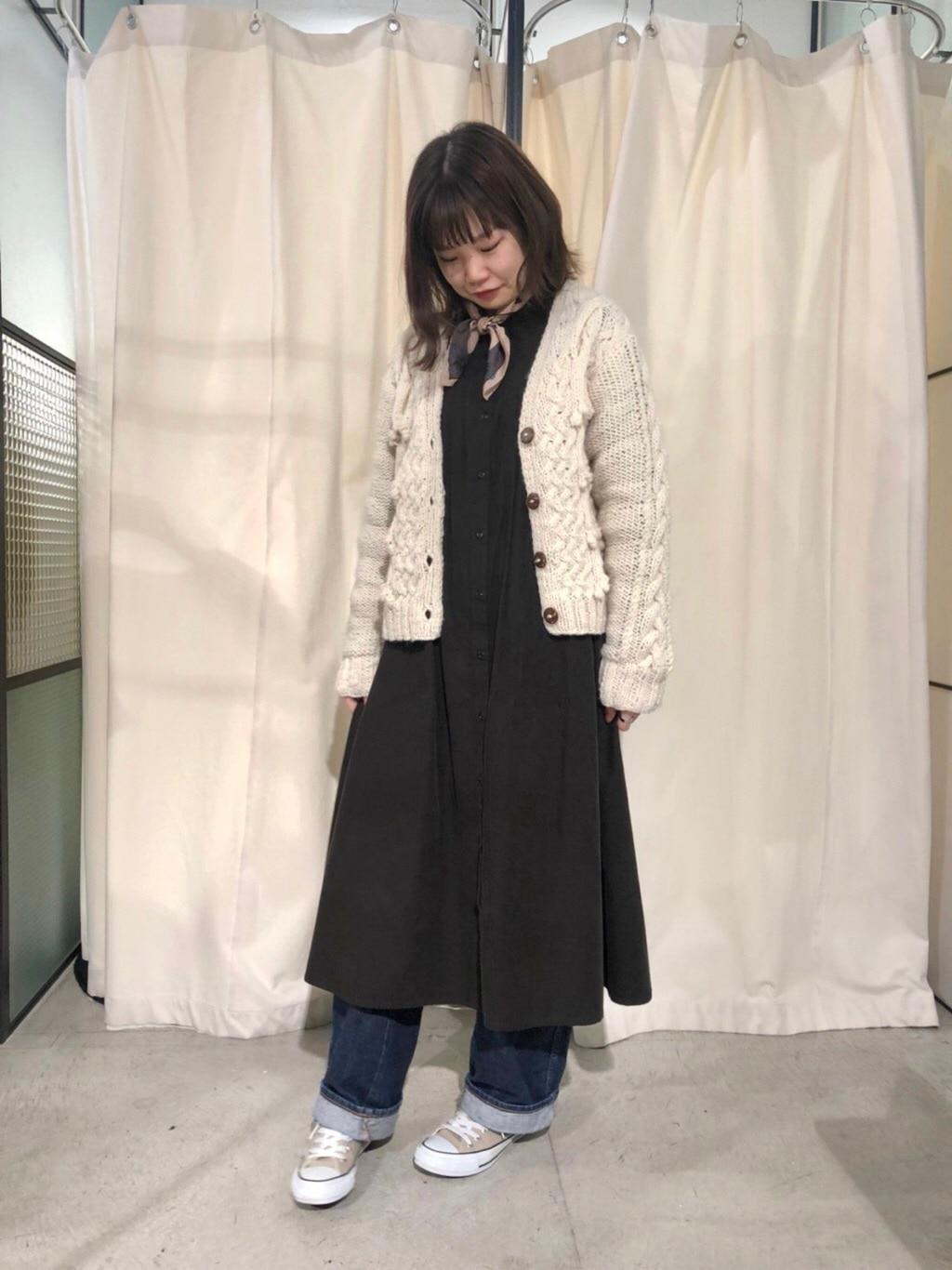 PAR ICI KLASSISK ルミネ新宿 身長:162cm 2019.11.14