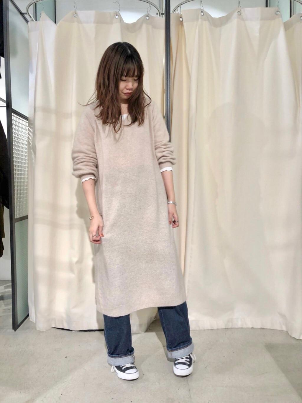 PAR ICI KLASSISK ルミネ新宿 身長:162cm 2019.11.12