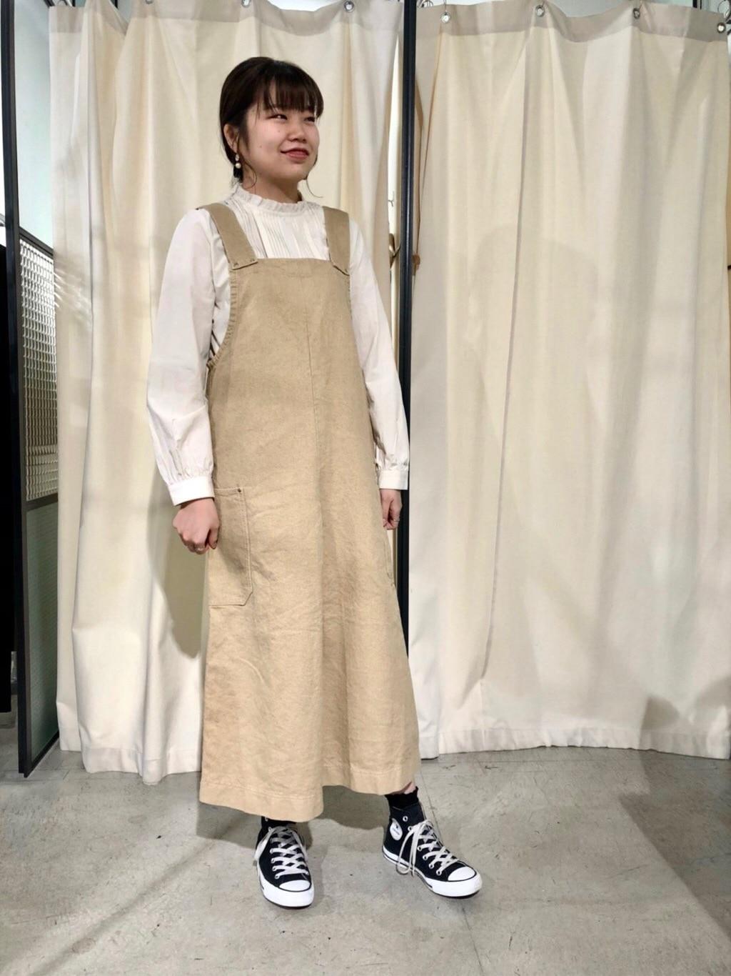 PAR ICI KLASSISK ルミネ新宿 身長:162cm 2019.11.29