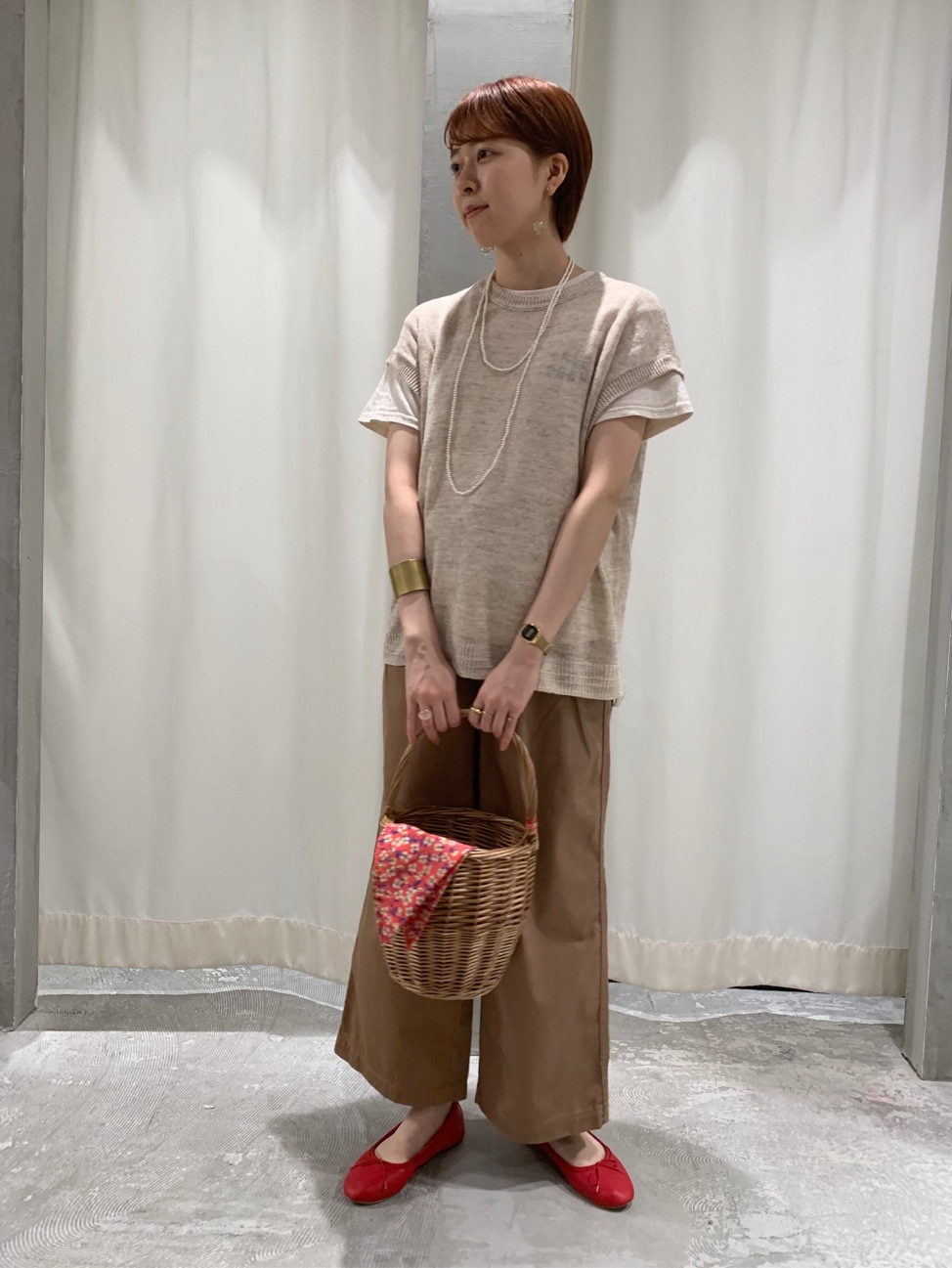 AMB SHOP CHILD WOMAN CHILD WOMAN , PAR ICI ルミネ横浜 身長:158cm 2020.06.15