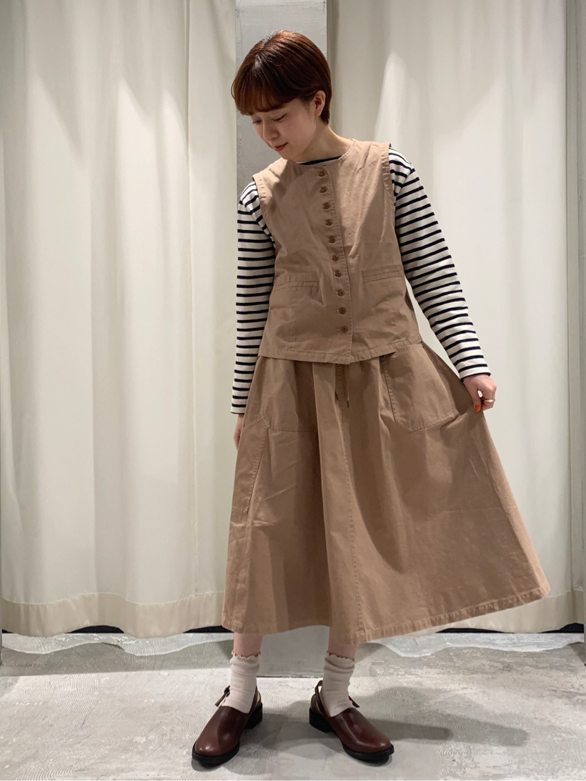 Dot and Stripes CHILD WOMAN ルミネ池袋 身長:158cm 2020.03.24