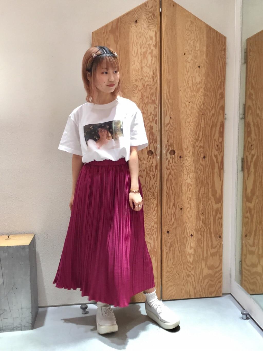 l'atelier du savon グランフロント大阪 身長:157cm 2019.07.16