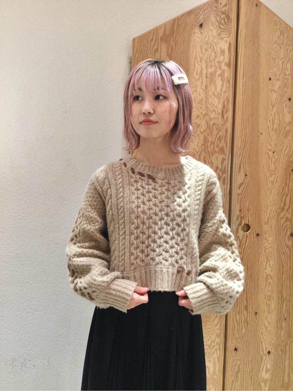 l'atelier du savon グランフロント大阪 身長:157cm 2019.12.10