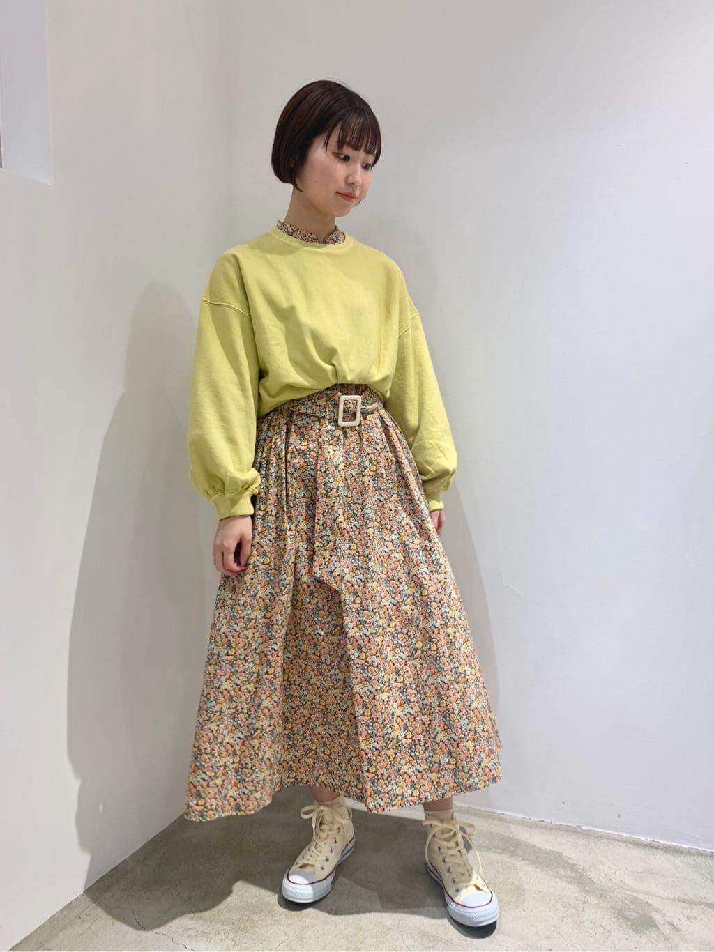 l'atelier du savon ルクア大阪 身長:157cm 2021.10.18