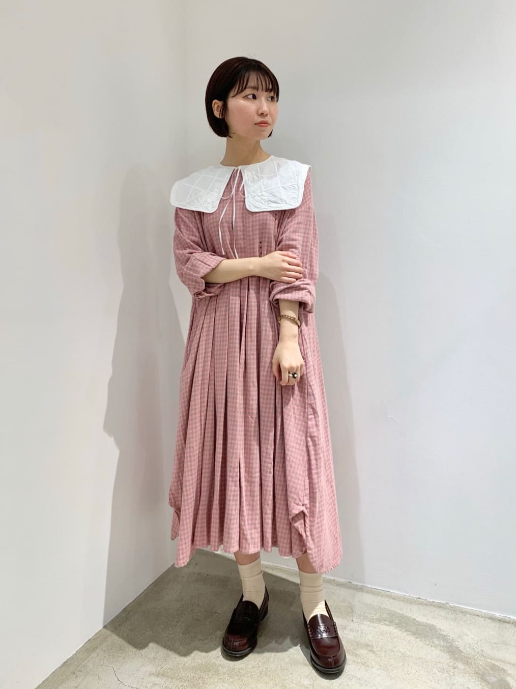 l'atelier du savon ルクア大阪 身長:157cm 2021.09.27