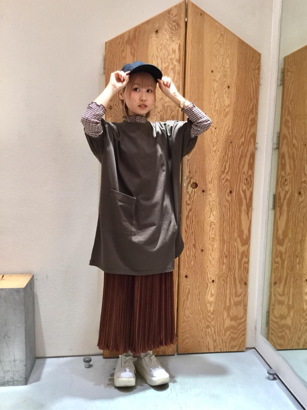 l'atelier du savon グランフロント大阪 身長:157cm 2019.08.06
