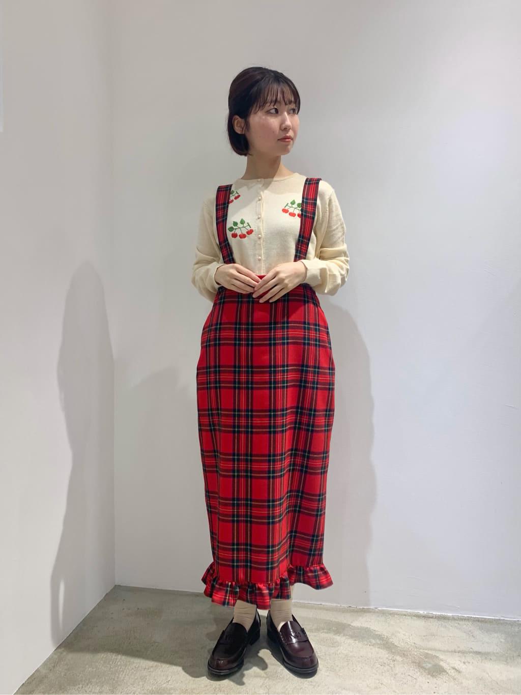 l'atelier du savon ルクア大阪 身長:157cm 2021.10.14