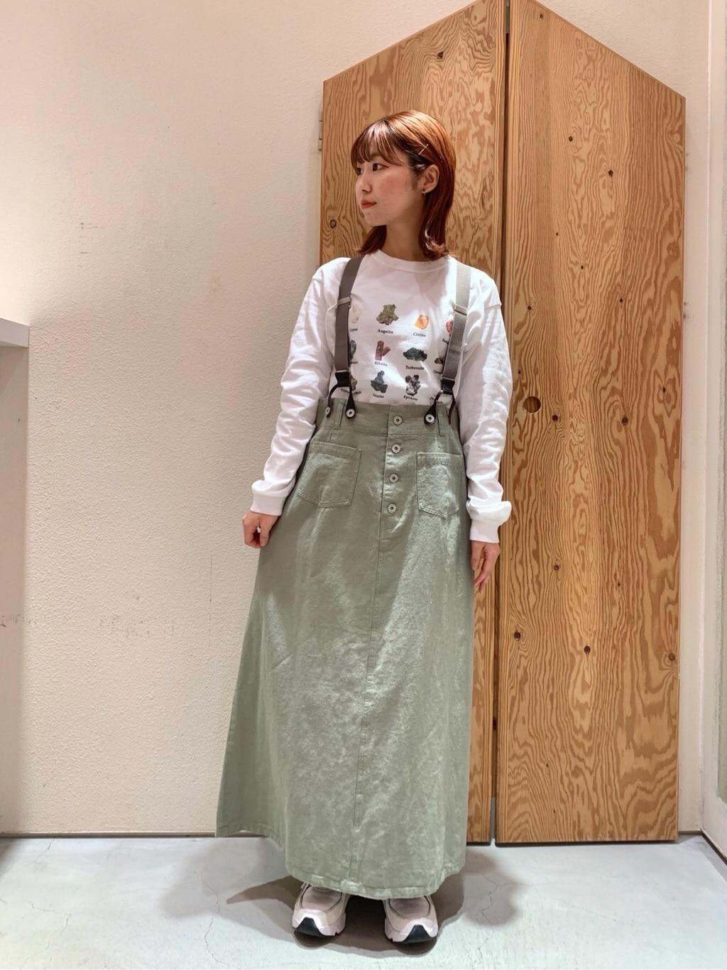 l'atelier du savon グランフロント大阪 身長:157cm 2021.02.05
