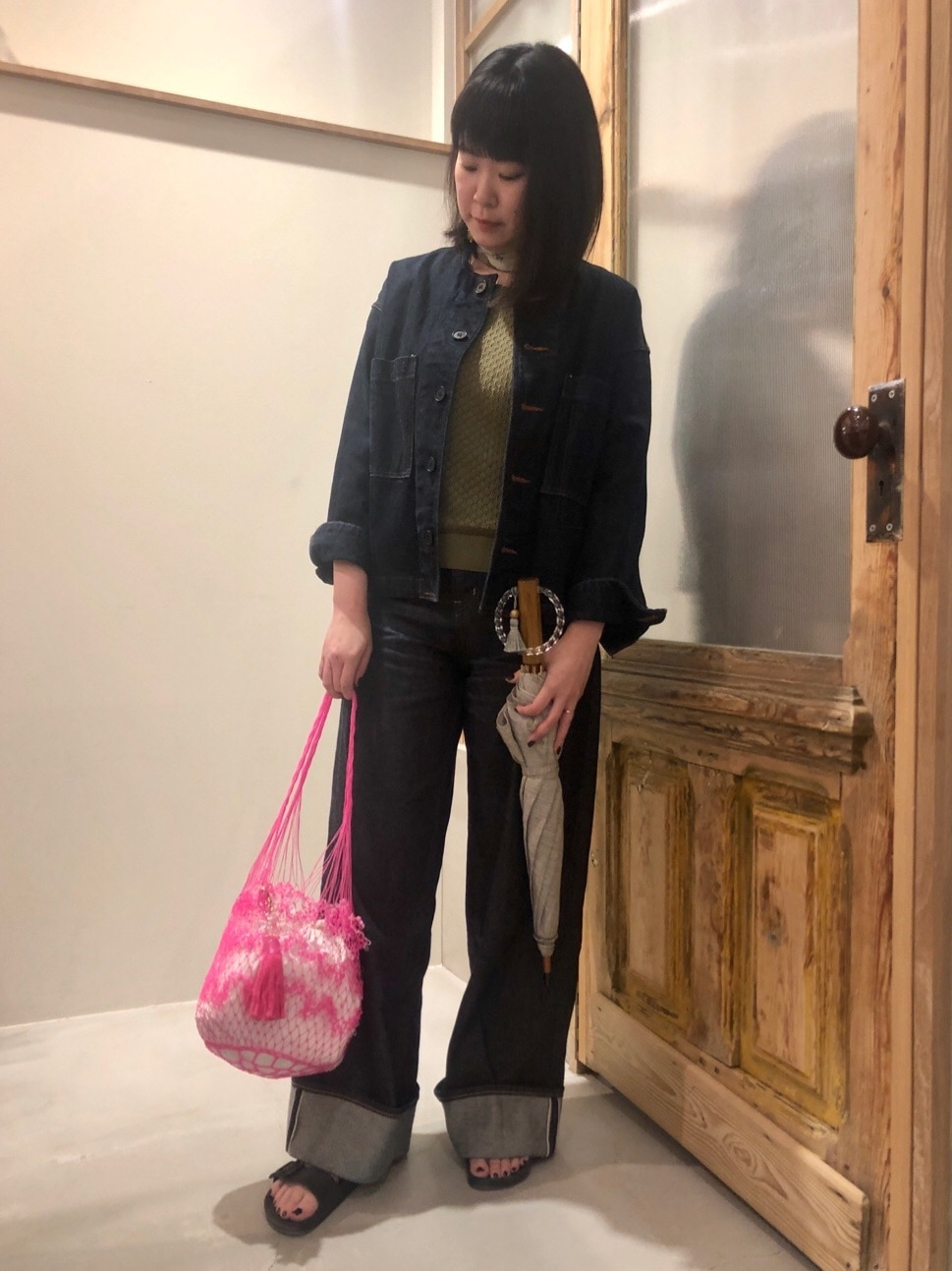 bulle de savon 渋谷スクランブルスクエア 身長:157cm 2020.06.16
