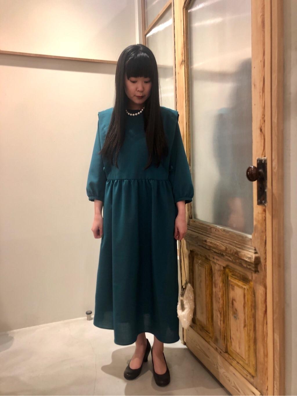 bulle de savon 渋谷スクランブルスクエア 身長:157cm 2020.03.23