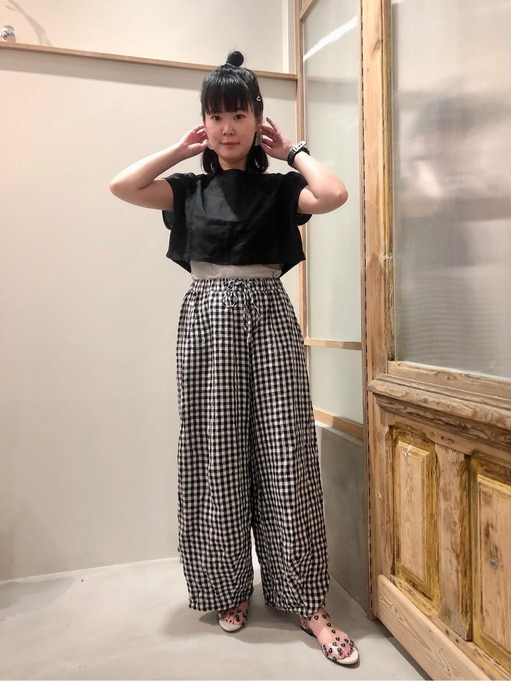 bulle de savon 渋谷スクランブルスクエア 身長:157cm 2020.06.24