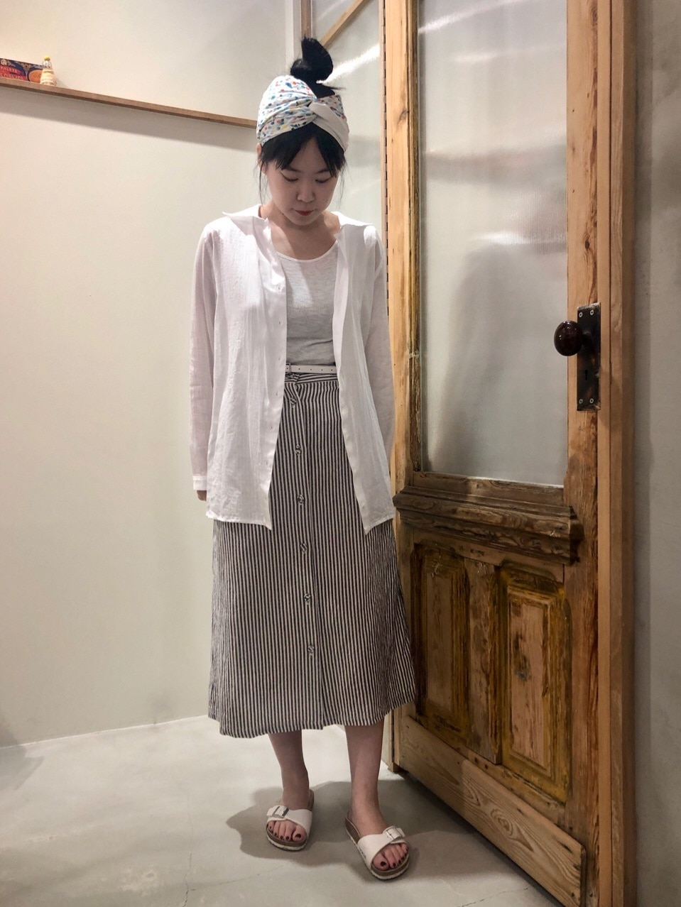 bulle de savon 渋谷スクランブルスクエア 身長:157cm 2020.07.03