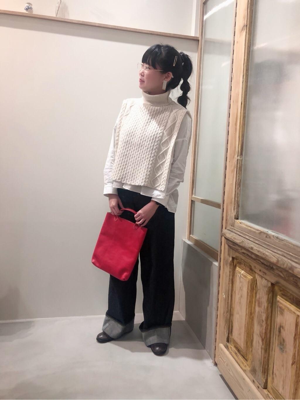 bulle de savon 渋谷スクランブルスクエア 身長:157cm 2020.01.10