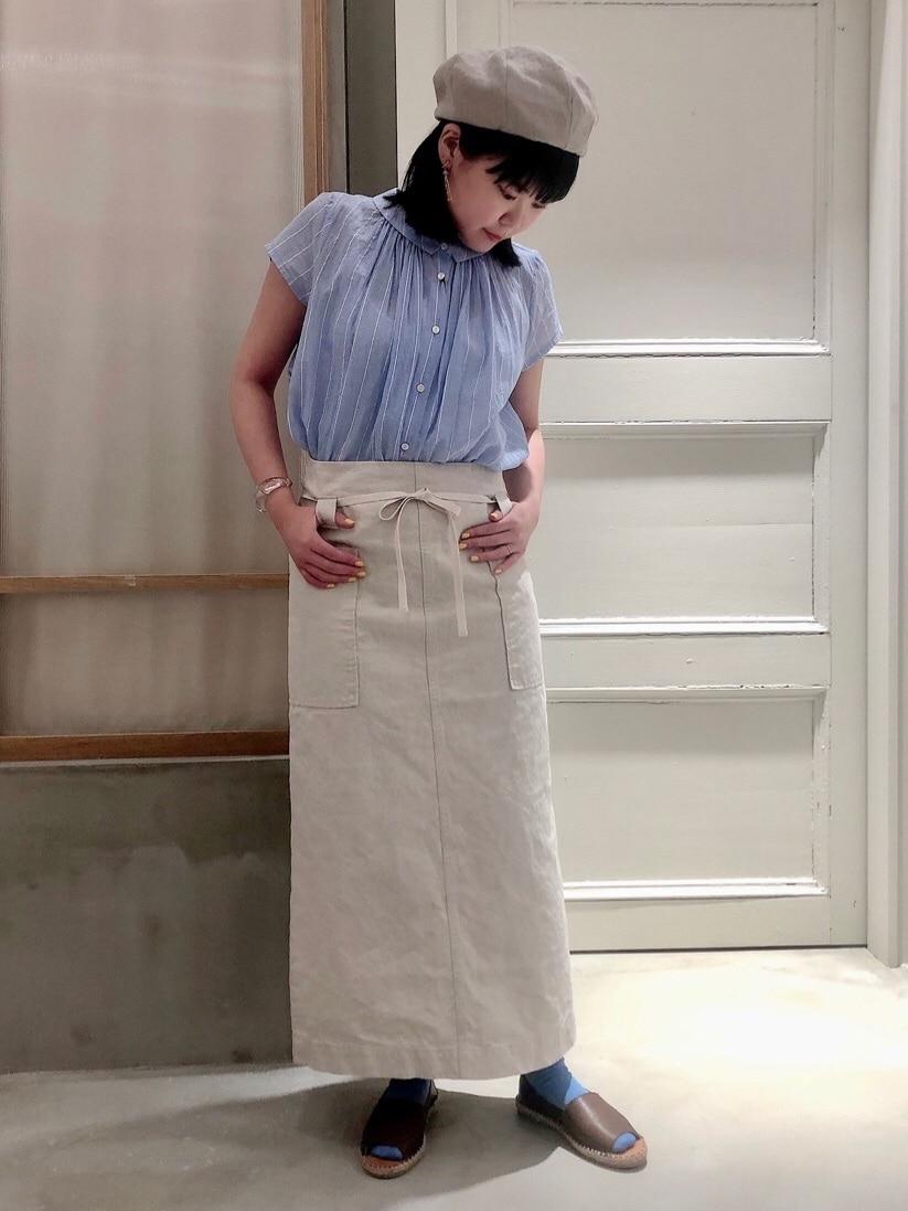 bulle de savon 渋谷スクランブルスクエア 身長:157cm 2020.07.15