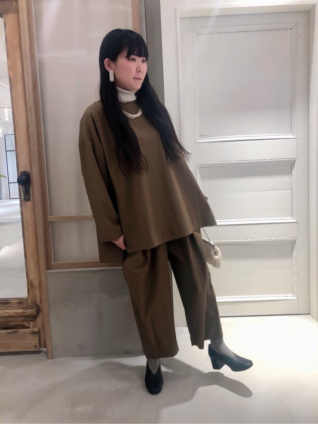 bulle de savon 渋谷スクランブルスクエア 身長:157cm 2020.01.11
