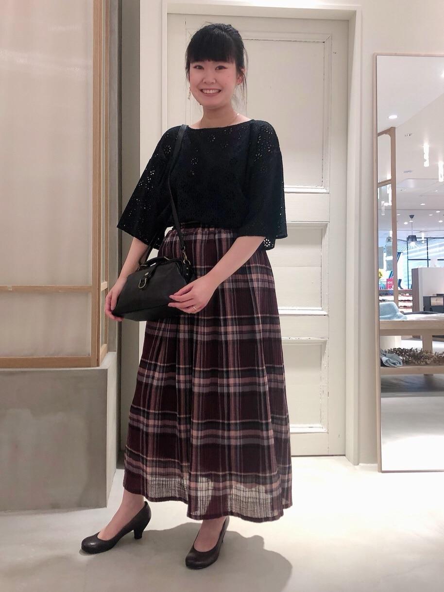 bulle de savon 渋谷スクランブルスクエア 身長:157cm 2020.07.28