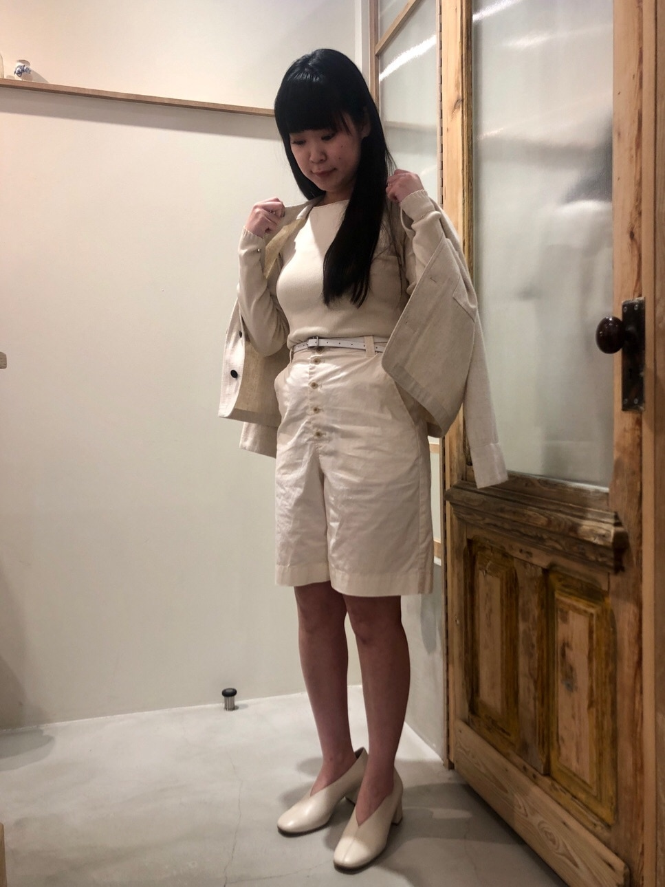 bulle de savon 渋谷スクランブルスクエア 身長:157cm 2020.03.24