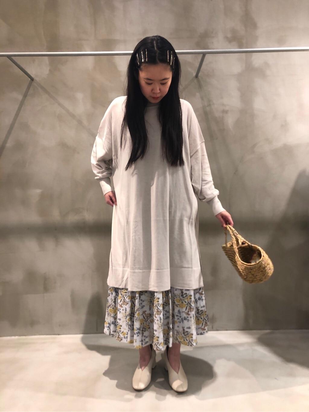 bulle de savon 渋谷スクランブルスクエア 身長:157cm 2020.06.14