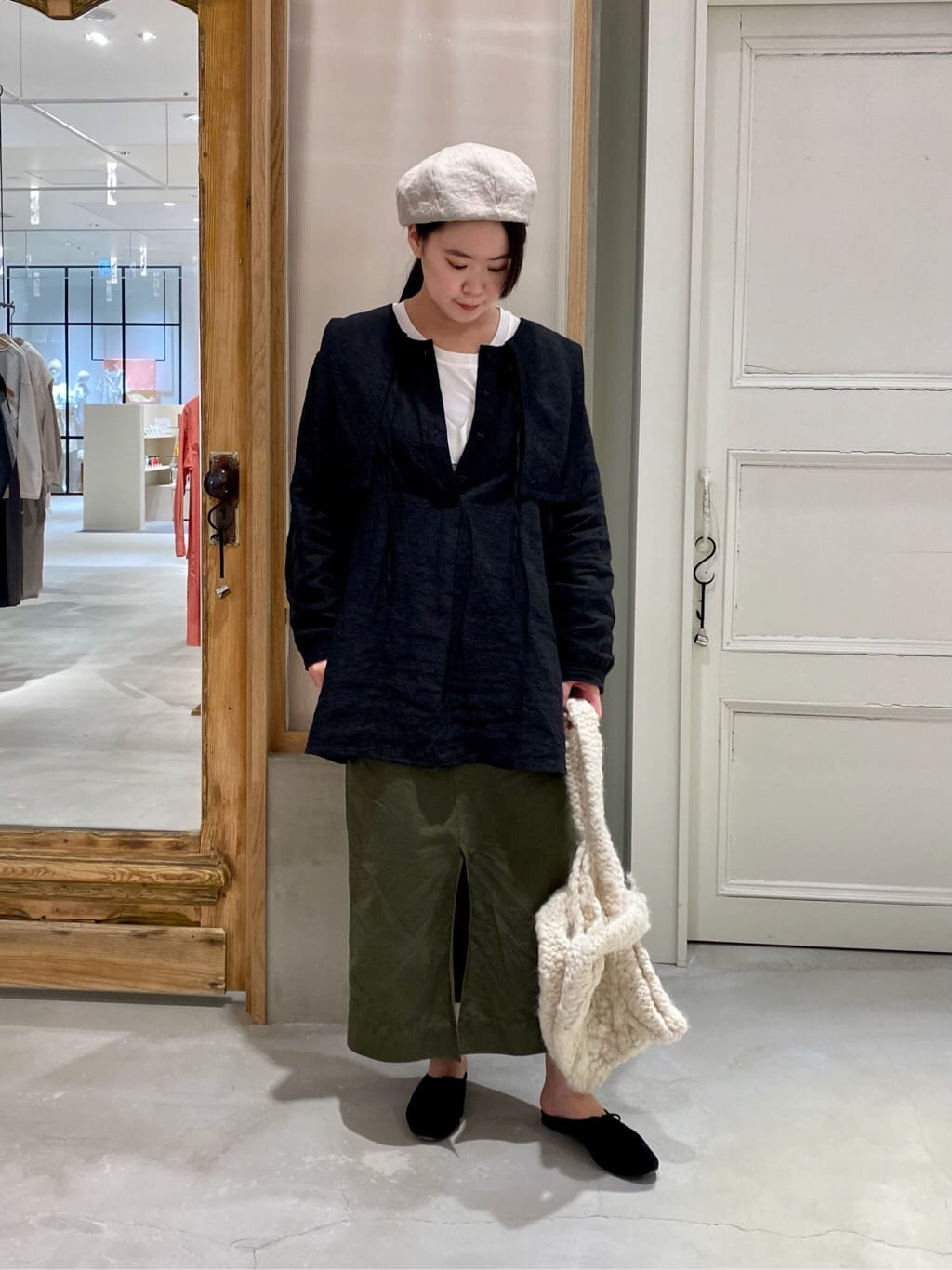 bulle de savon 渋谷スクランブルスクエア 身長:158cm 2021.09.14