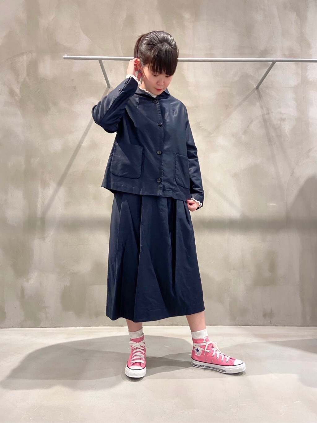 bulle de savon 渋谷スクランブルスクエア 身長:158cm 2020.09.16