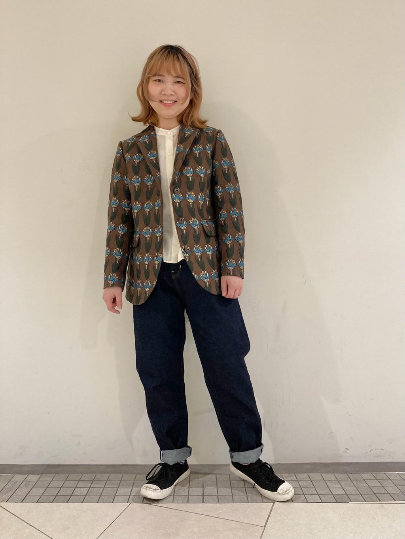 l'atelier du savon 東京スカイツリータウン・ソラマチ 身長:154cm 2021.01.21