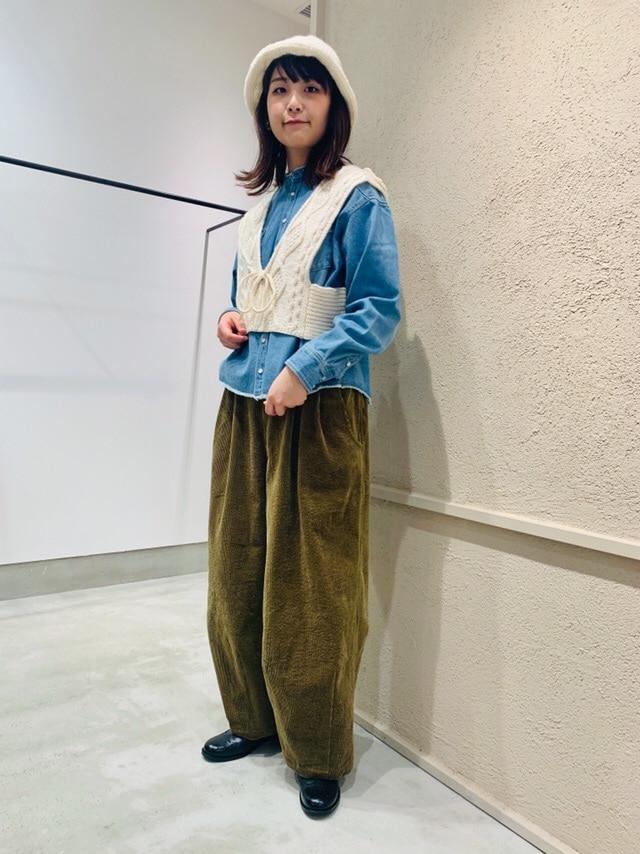 chambre de charme 横浜ジョイナス 身長:162cm 2020.10.13