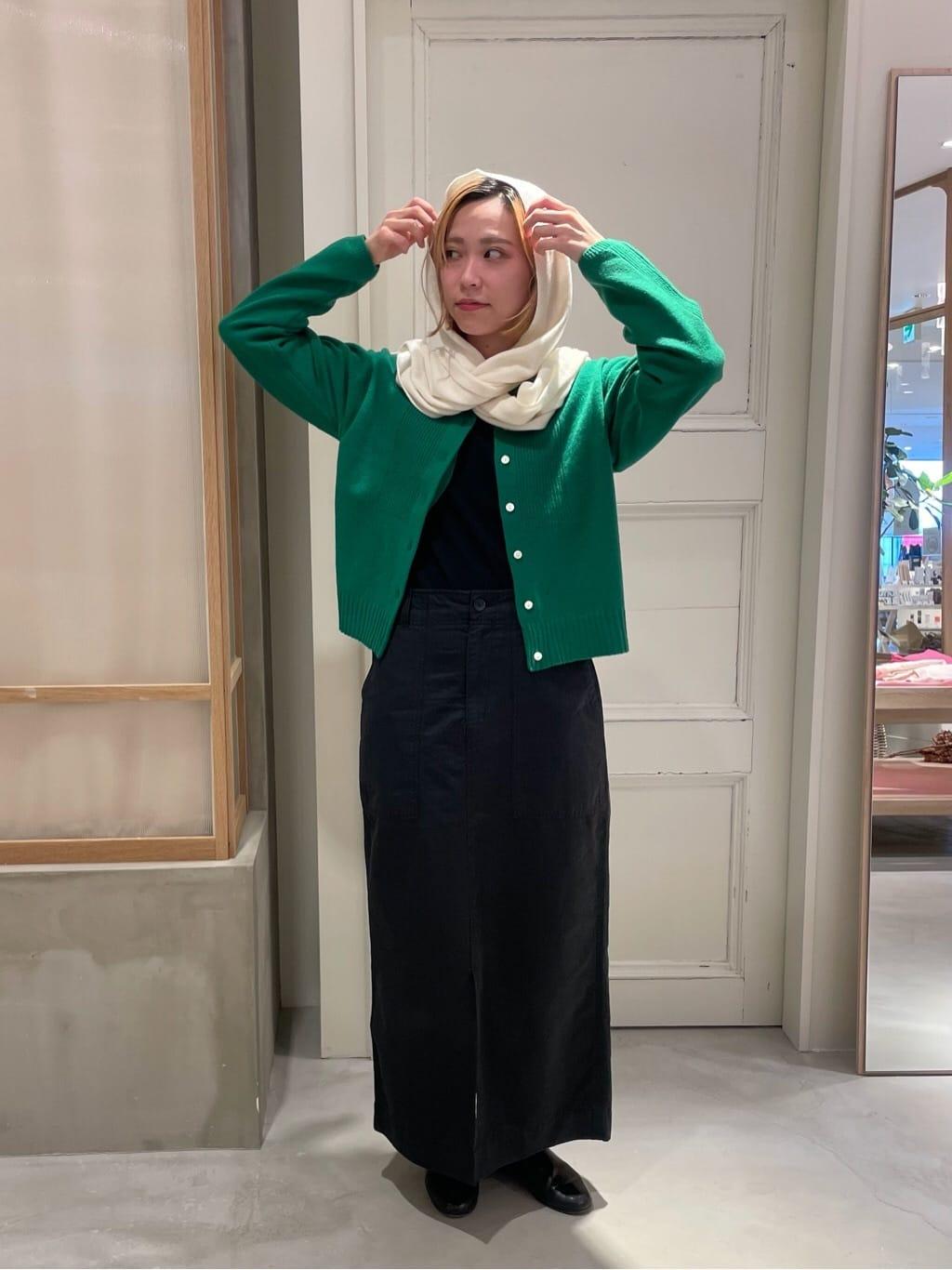 bulle de savon 渋谷スクランブルスクエア 身長:154cm 2021.09.11