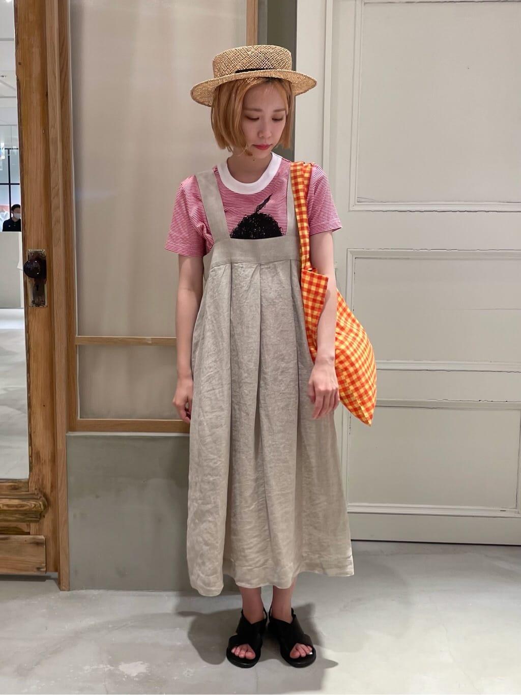 bulle de savon 渋谷スクランブルスクエア 身長:154cm 2021.07.27