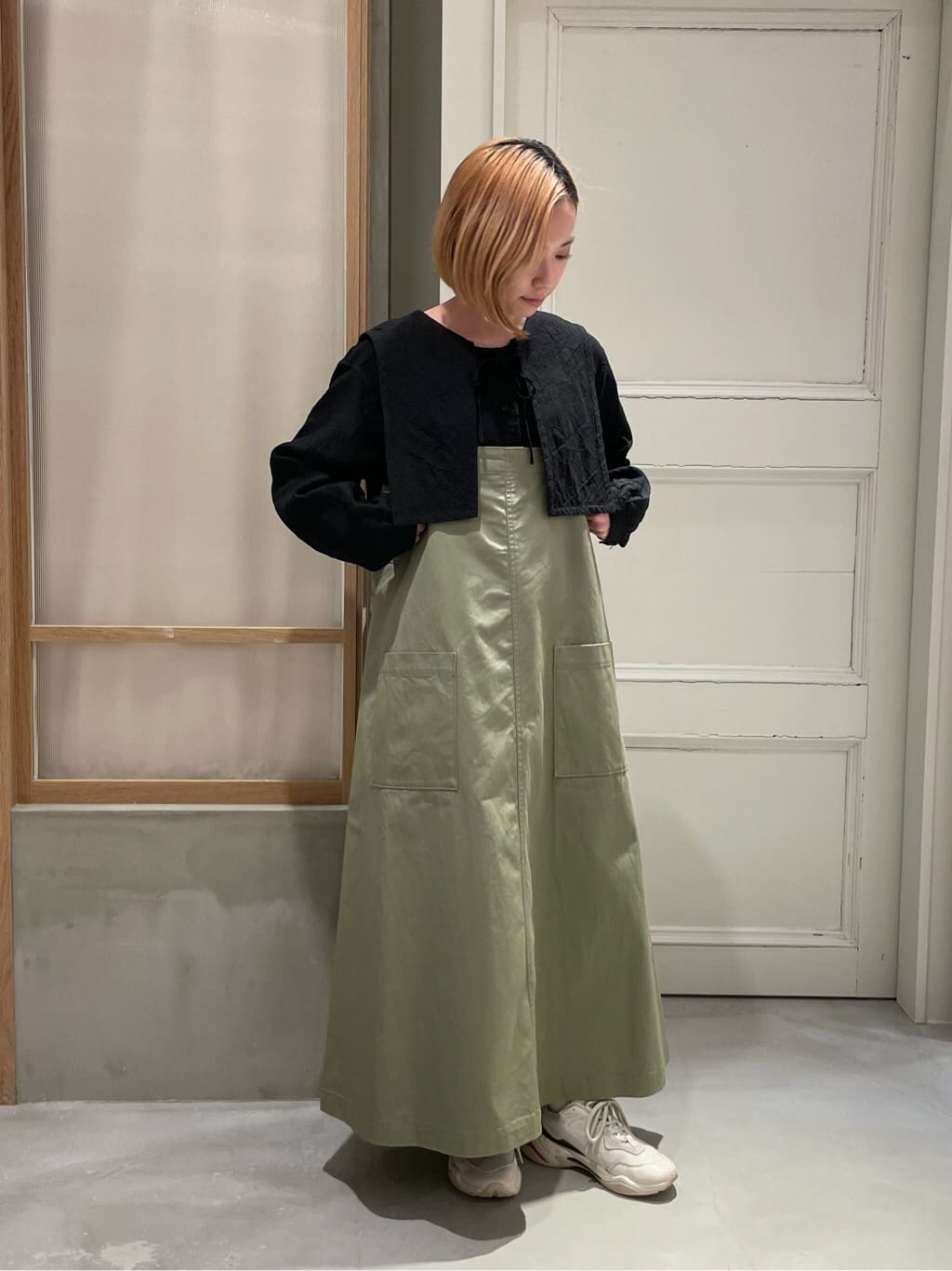 bulle de savon 渋谷スクランブルスクエア 身長:154cm 2021.08.13