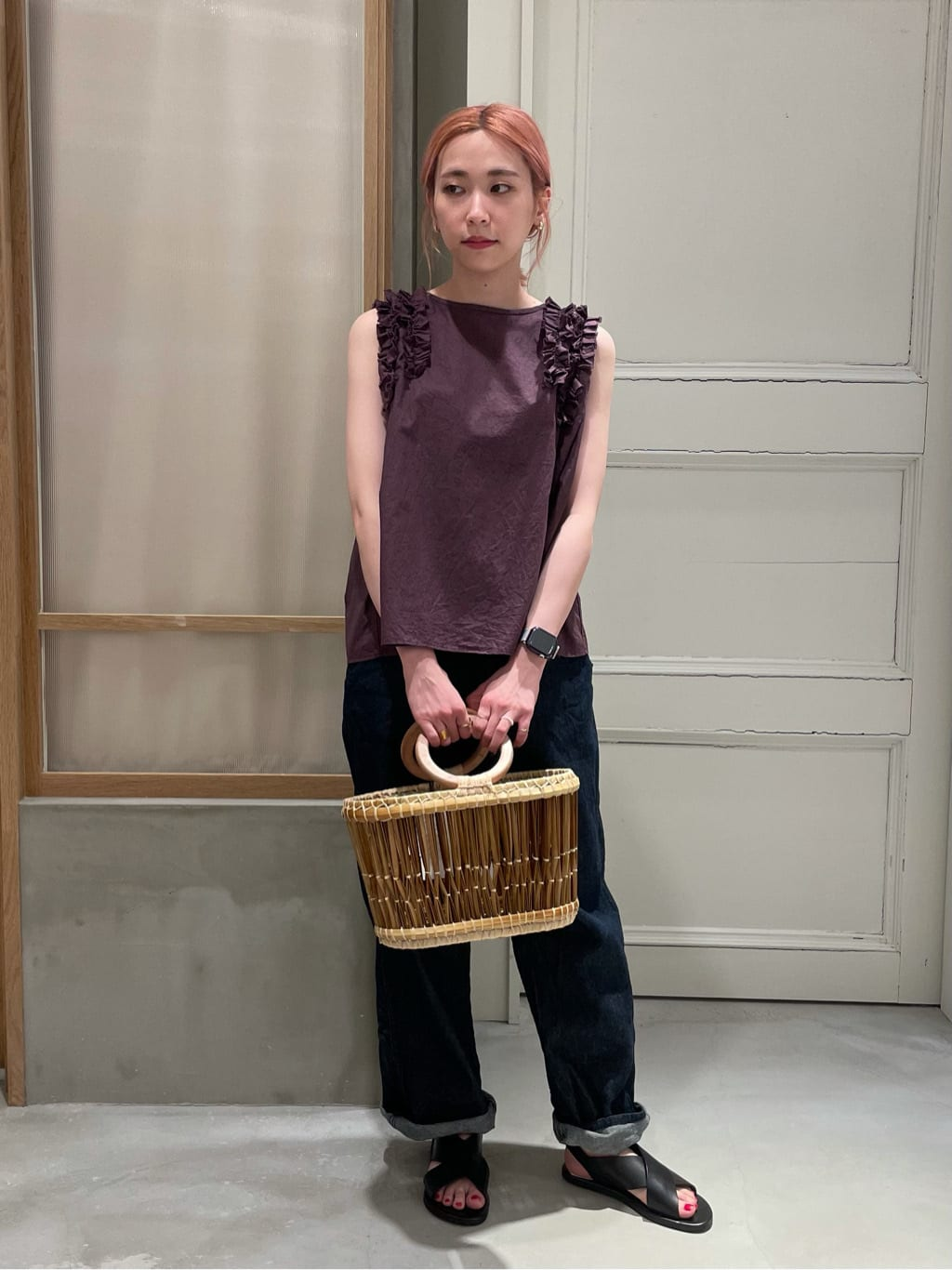 bulle de savon 渋谷スクランブルスクエア 身長:155cm 2021.06.21