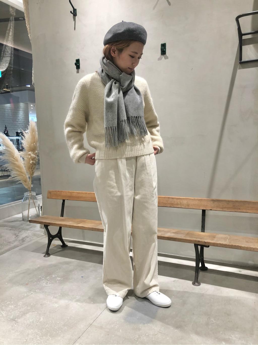 yuni 東急プラザ銀座 身長:154cm 2020.11.19