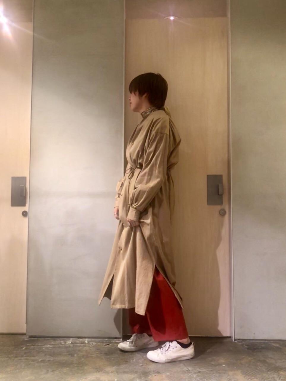 note et silence. ルミネ新宿 身長:165cm 2019.12.04
