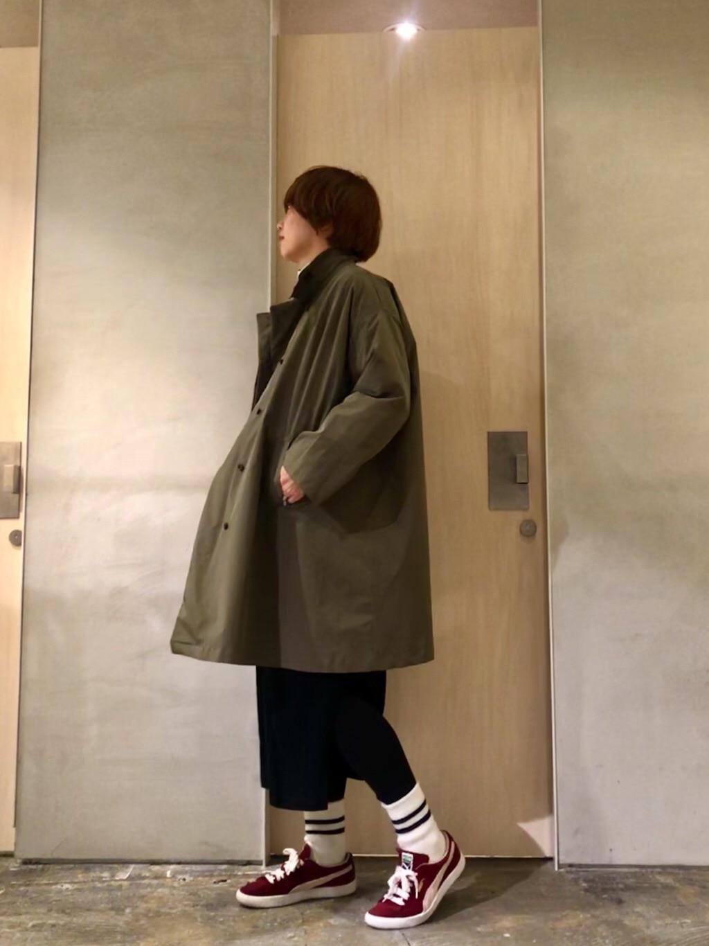 note et silence. ルミネ新宿 身長:165cm 2019.12.09