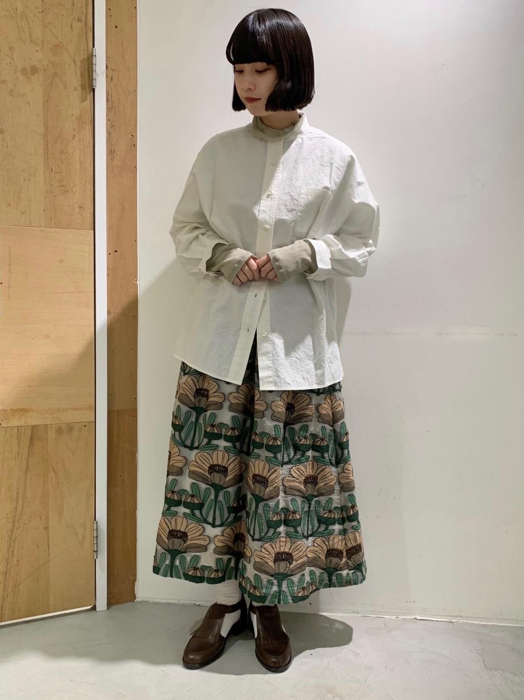 l'atelier du savon 新宿ミロード 身長:159cm 2021.02.04